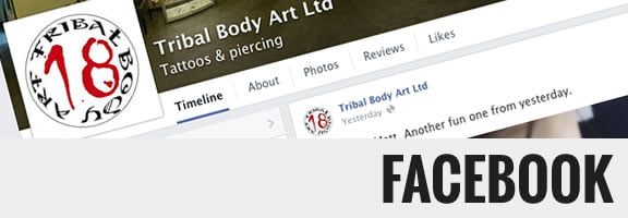 Tribal Body Art on Facebook