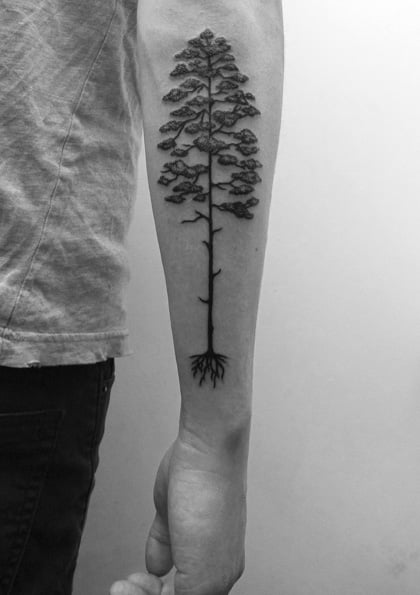 Tree tattoo by Calum