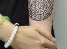 Circle pattern tattoo2 by Calum
