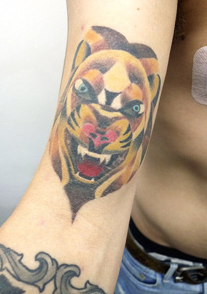 Tiger Tattoo by Mx