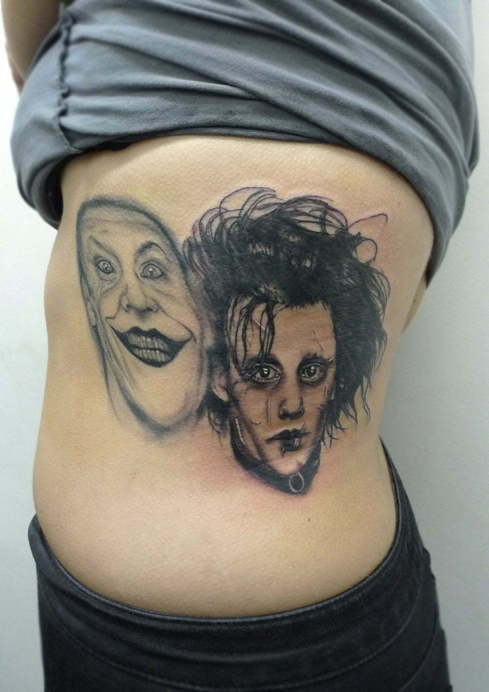 Scissorhands and Joker