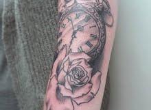 Calum clock and roses