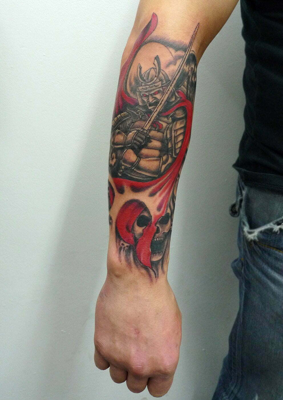 Samurai tattoo by Max