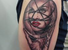 Madonna tattoo by Max