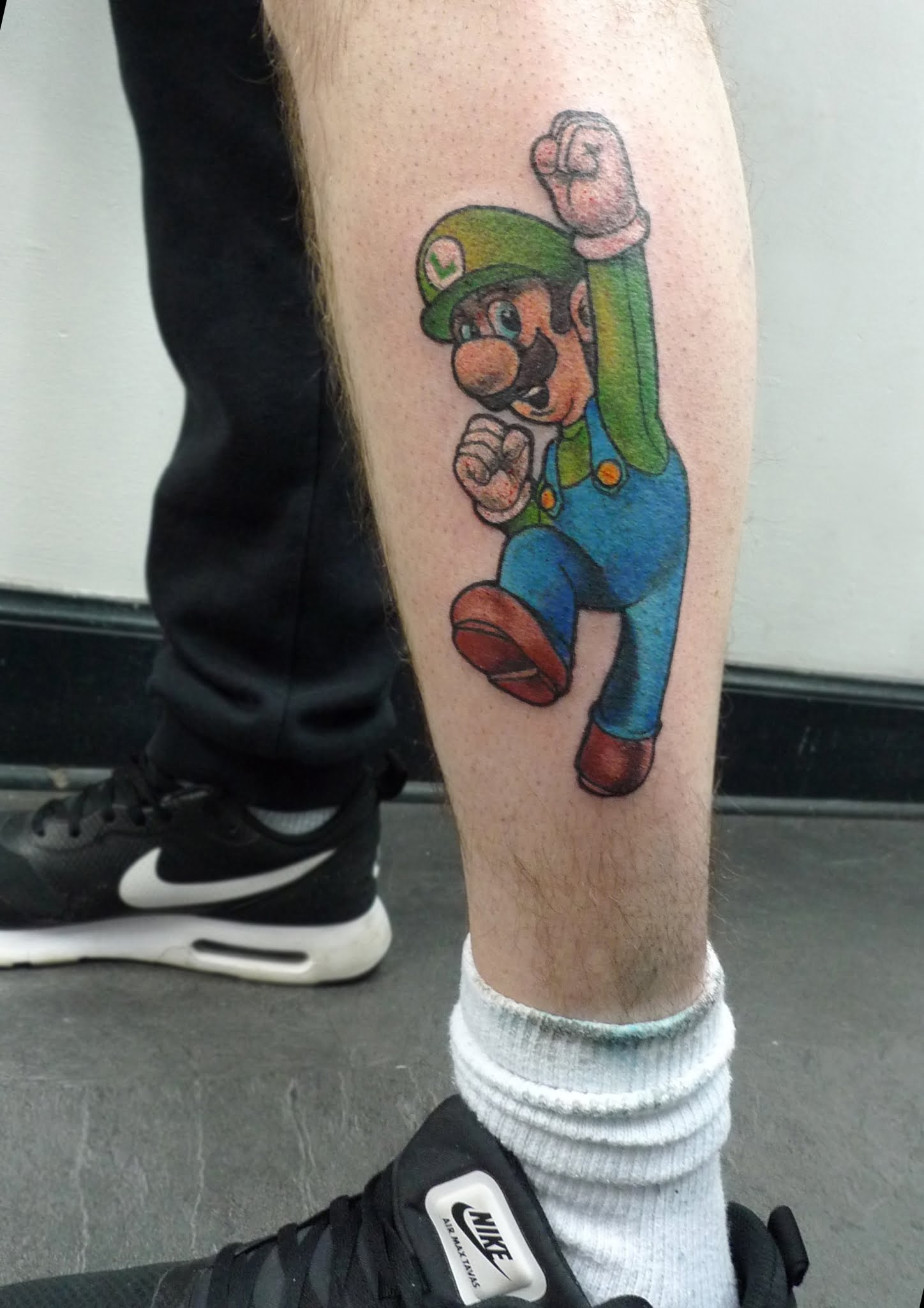 Mario tattoo by Max