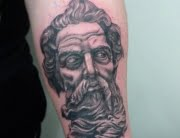 Zeus tattoo by Max