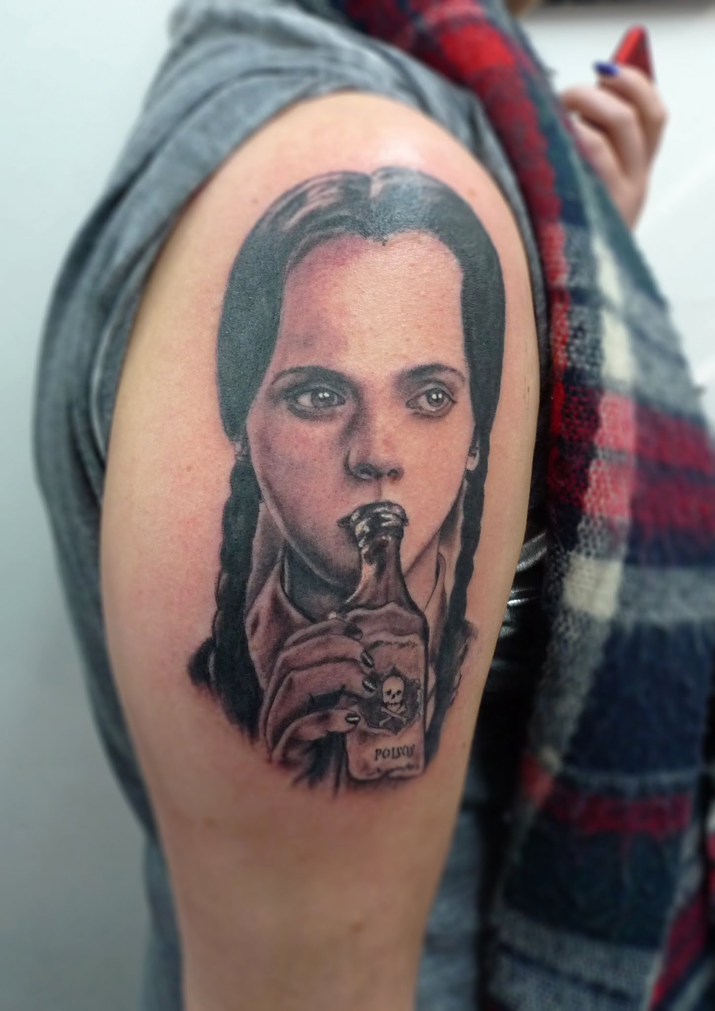Wednesday Adams tattoo