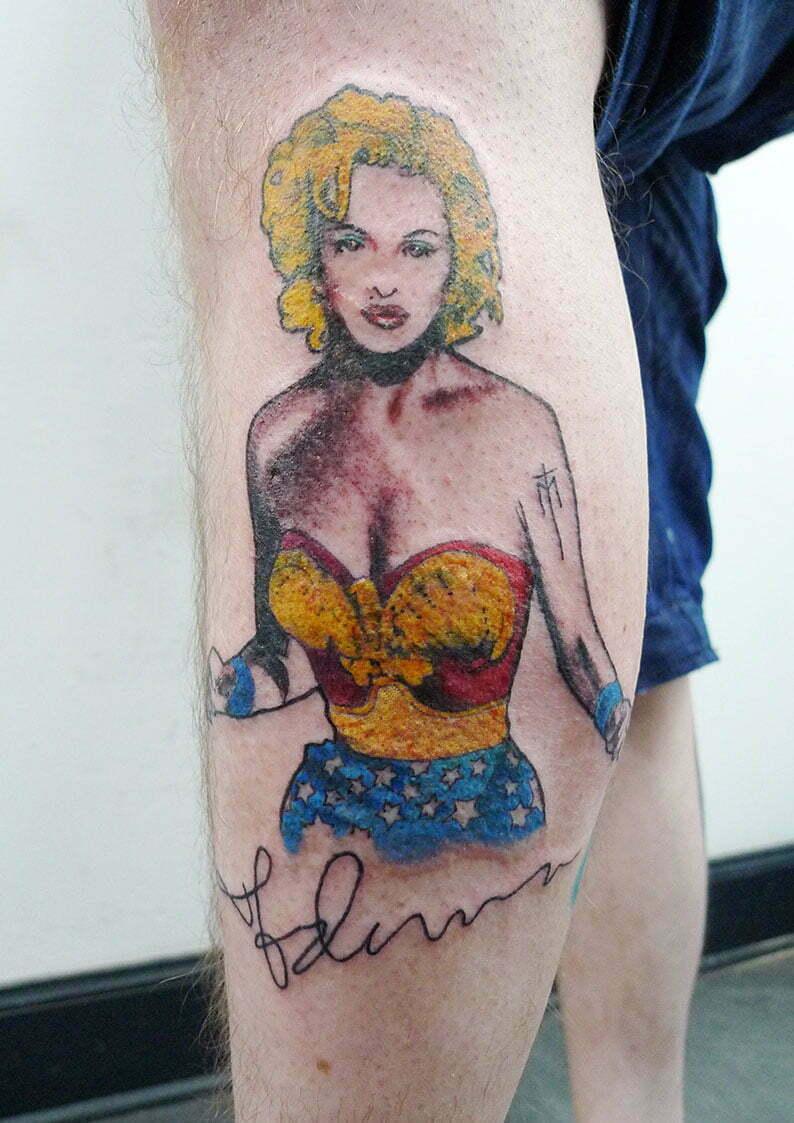 Pop Art Madonna by Max