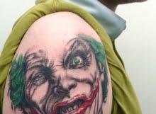 Joker tattoo by Max