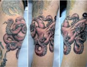 Octopus tattoo by Calum
