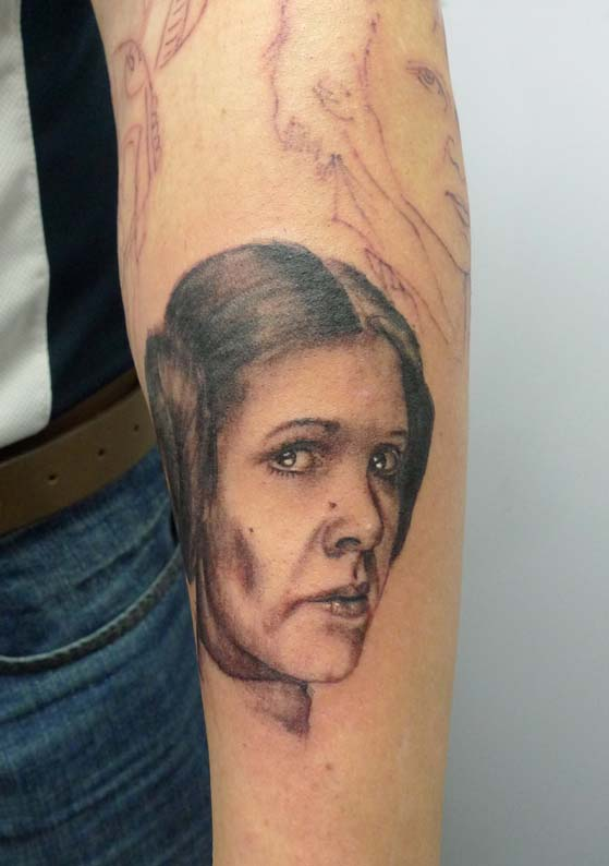 Princess Leia Tattoo by Max